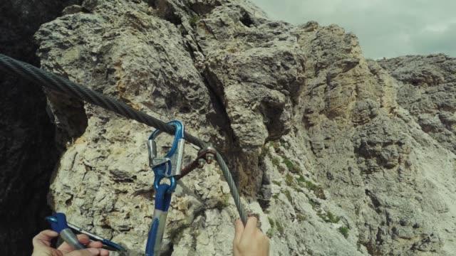 mountain climbing video