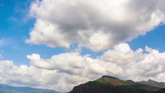 Mountain Clouds Time Lapse HD Video video