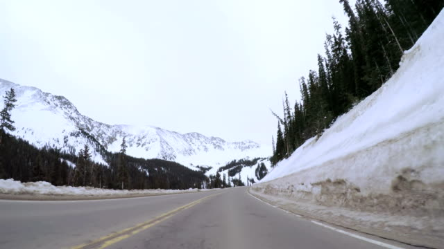 Mountain driving video