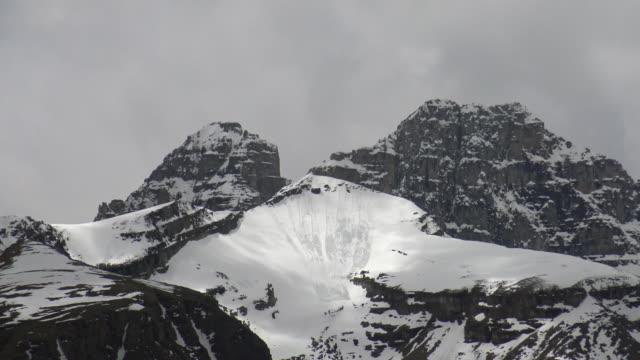 Mountain in Jasper National Park video