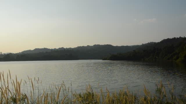 mountain in Wang Bon reservoir Thailand