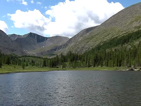 stockvideo's en b-roll-footage met mountain lake - natuurgrond