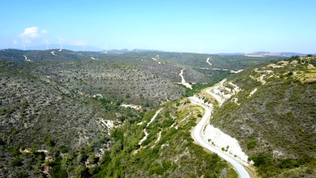 Mountain landscape. Island of cyprus video