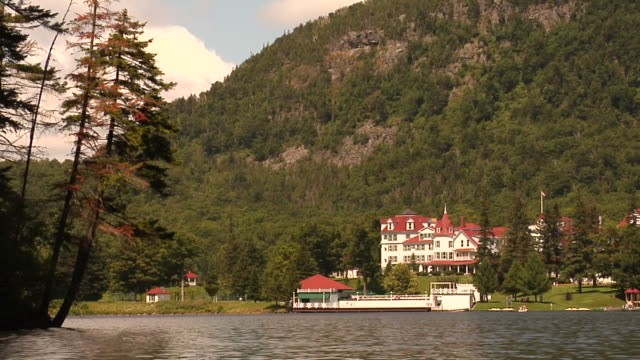 Mountain Lodge on Lake video