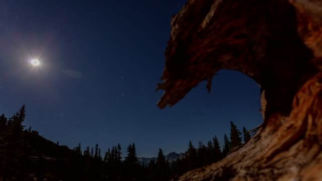luna montagne - brent video stock e b–roll