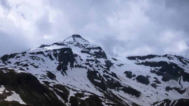 Mountain Peak Time Lapse video