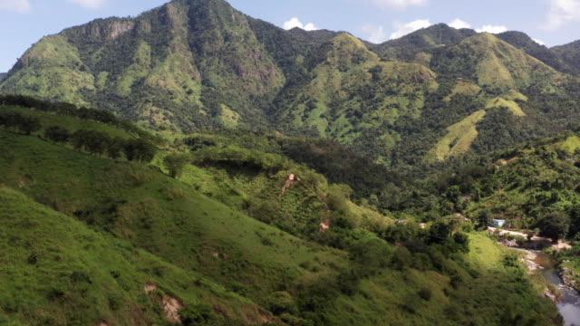 Mountain Range Mountain Range cerro Morales Puerto Rico puerto rico stock videos & royalty-free footage