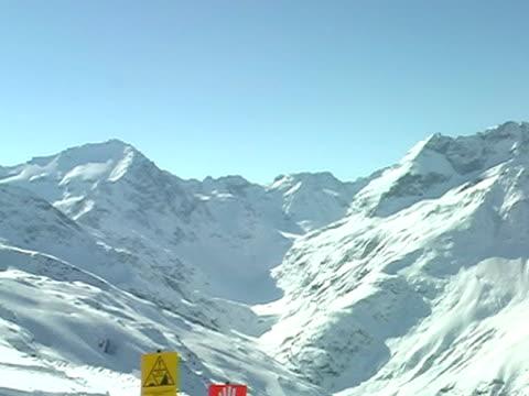 горы живописный 1 - центральная европа стоковые видео и кадры b-roll