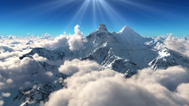 mountain snow clouds 4k - szwajcaria filmów i materiałów b-roll