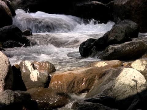vídeos y material grabado en eventos de stock de ntsc: río de montaña - descripción física
