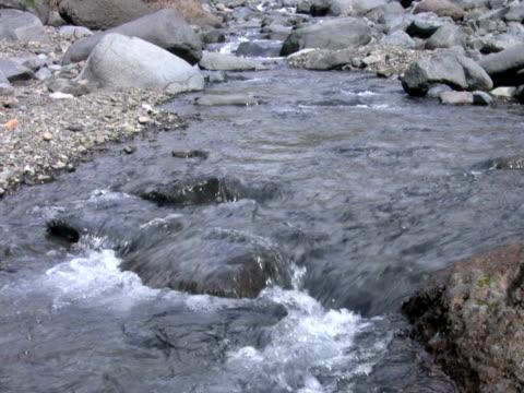 vídeos y material grabado en eventos de stock de pal: río de montaña - descripción física