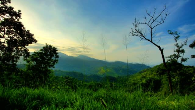 Mountain Sunrise, Central Province, Sri Lanka video
