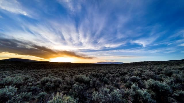 Mountain Sunset Time Lapse video