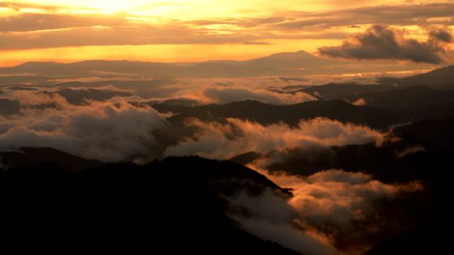 mountain sunset timelapse - serbien bildbanksvideor och videomaterial från bakom kulisserna