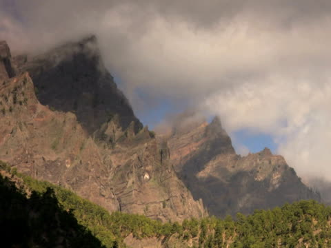 pal: mountain timelapse - 管卡規格 個影片檔及 b 捲影像