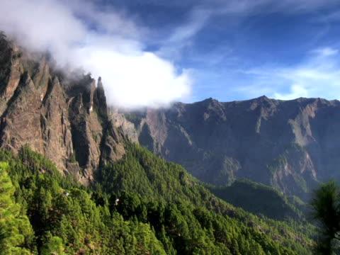 pal: mountain timelapse - zirrus stock-videos und b-roll-filmmaterial