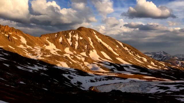 vídeos de stock, filmes e b-roll de mountain vista panorâmica - independence pass
