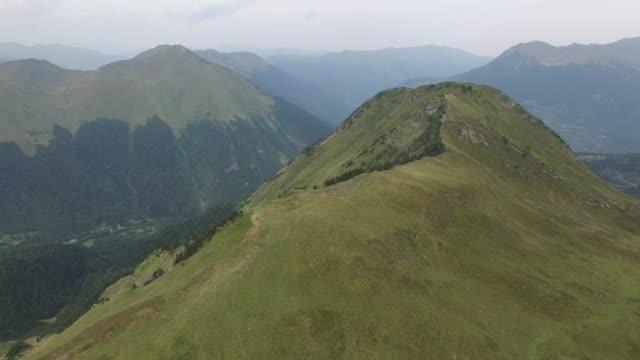 산악 풍경 - lleida 스톡 비디오 및 b-롤 화면