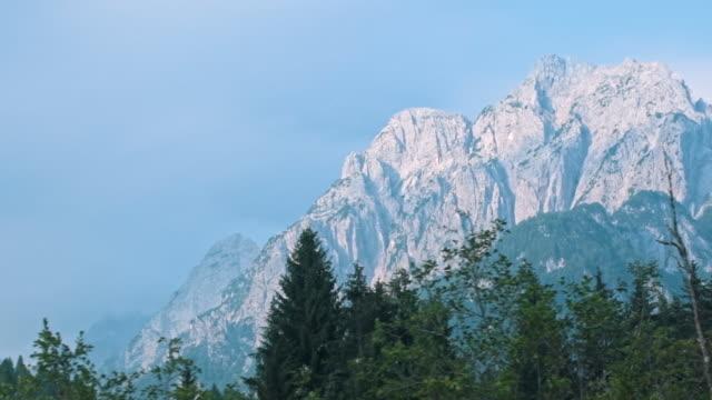 山々、スロベニア - スロベニア点の映像素材/bロール