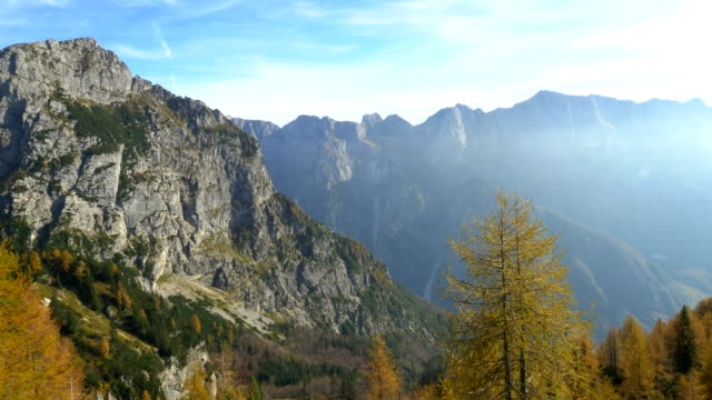 AERIAL Mountains In Slovenia video