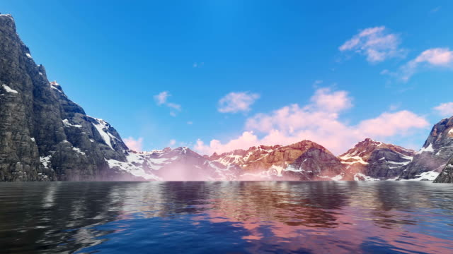 Mountains Lake video