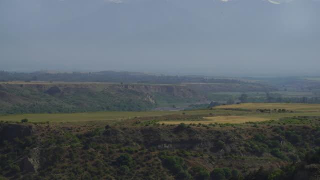 Mountains panorama in Azerbajan