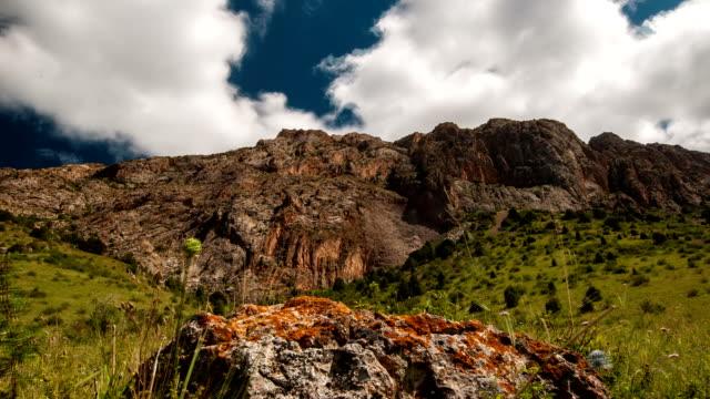 Mountains Sairam-Su, Tian Shan, Kazahkstan video