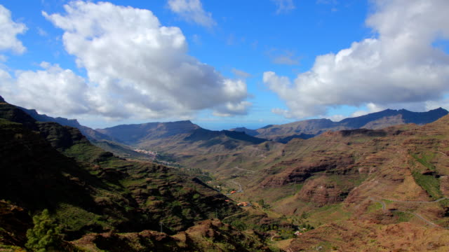 Mountains time lapse, Gran Canaria video