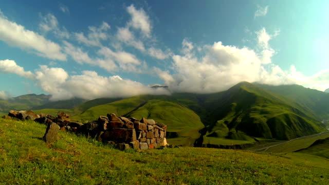 Mountains time-lapse video