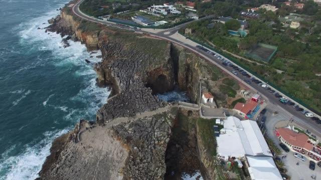 Mouth of Hell - Boca do Inferno, Cascais, Portugal video