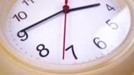 istock Movement around the round wall clock 1263167675