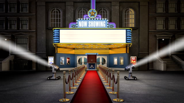 Movie Marquee HD Video