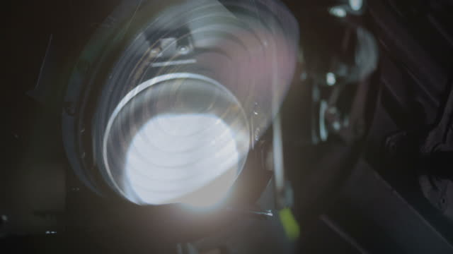 film, i migliori talenti co - riflettore lenticolare video stock e b–roll