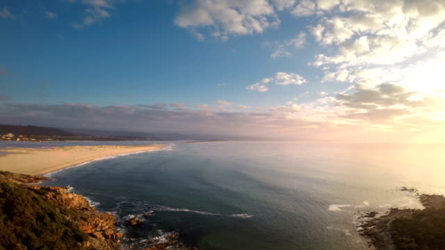Moving away from Plettenberg Bay Beach video