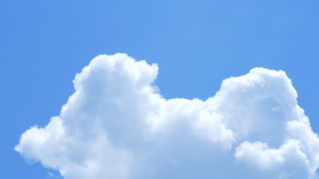 夏の空の雲の移動 - 夏点の映像素材/bロール