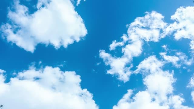 spostamento del time lapse del cloud - passare davanti video stock e b–roll