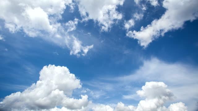 moving clouds - 4k time lapse - кольцевой стоковые видео и кадры b-roll