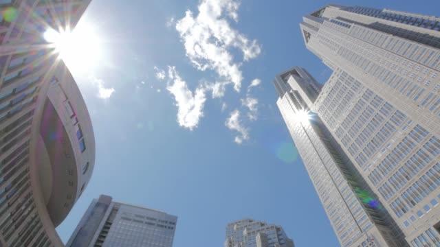 雲や建物を移動 - 政治点の映像素材/bロール