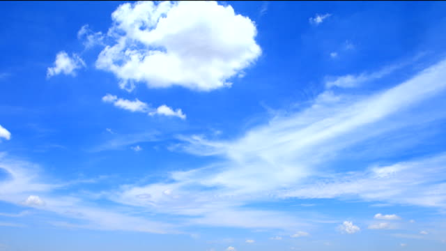 Moving clouds​ video