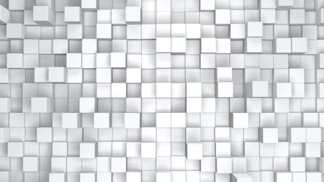 moving cubes background animation - мозаика стоковые видео и кадры b-roll