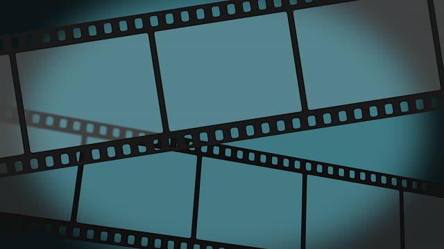 rotolo di pellicola mobile - bobina apparecchiatura di registrazione del suono video stock e b–roll