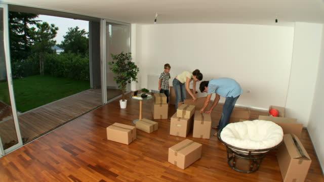 HD-ZEITRAFFER: Moving in neues Zuhause – Video