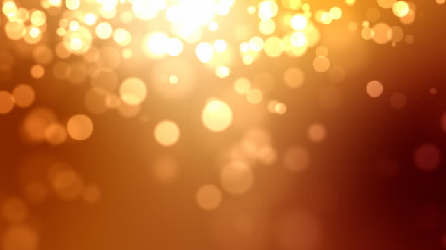 Moving Particles Loop - Orange/Red (HD 1080) video
