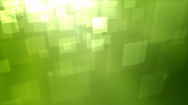 Moving Square Particles Loop - Green (HD 1080) video