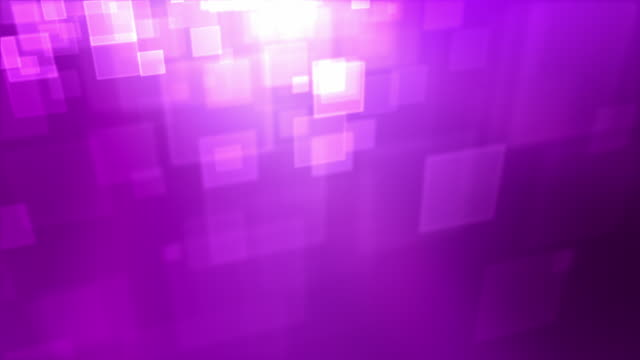 Moving Square Particles Loop - Pink/Purple video