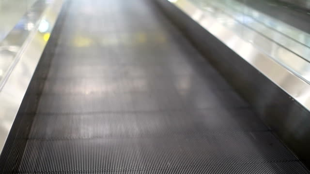 Moving Walkway in airport video