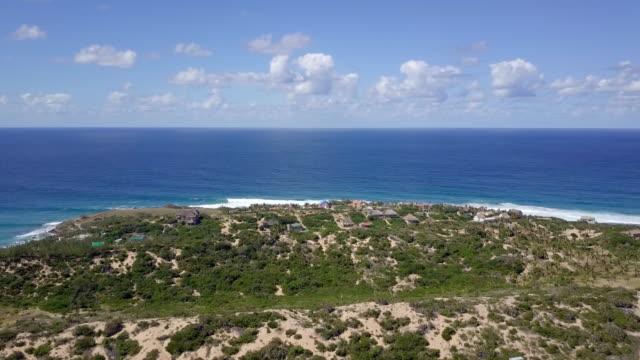 vídeos de stock e filmes b-roll de mozambique tofo palm plantation to ocean four times time lapse - oleo palma