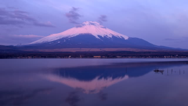 Mt Fuji at Sunrise video