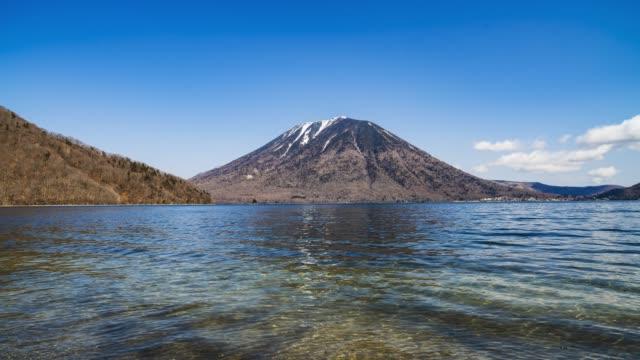 冬の南方山・中禅寺湖(タイムラプス) ビデオ