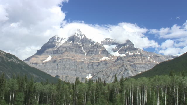 Mt. Robson cloudscape video